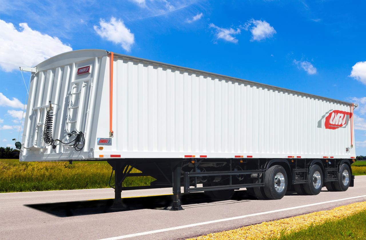 Nuevo Semirremolque Tolva 1+1+1 Mayor capacidad de carga